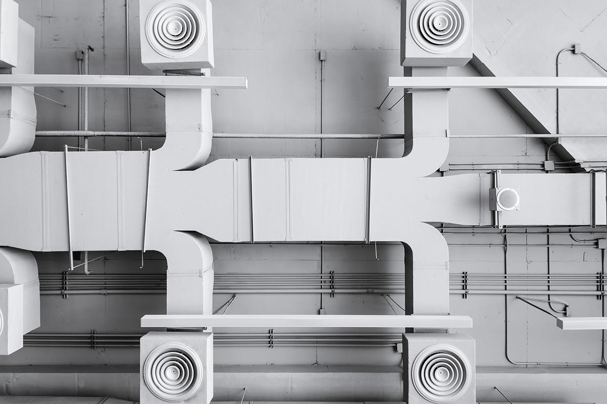 Conduites d'aération d'un système de ventilation