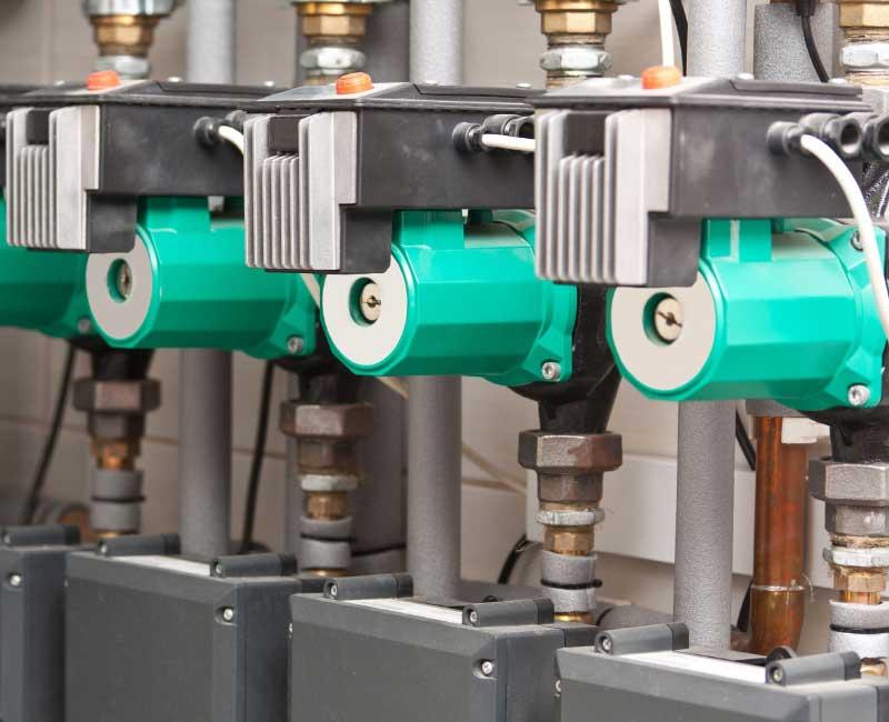 Equilibrage hydraulique du réseau bouclage ECS