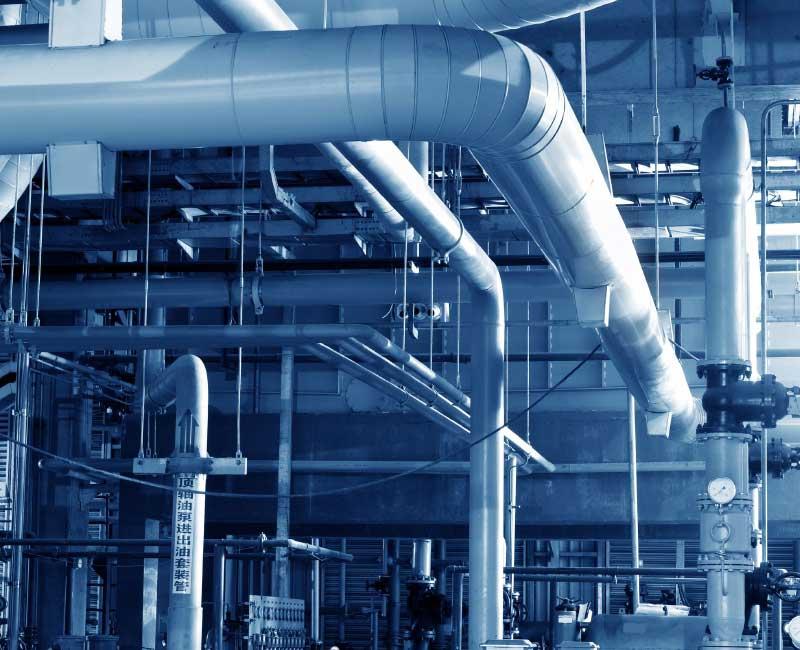 Equilibrage hydraulique du réseau d'eau glacée